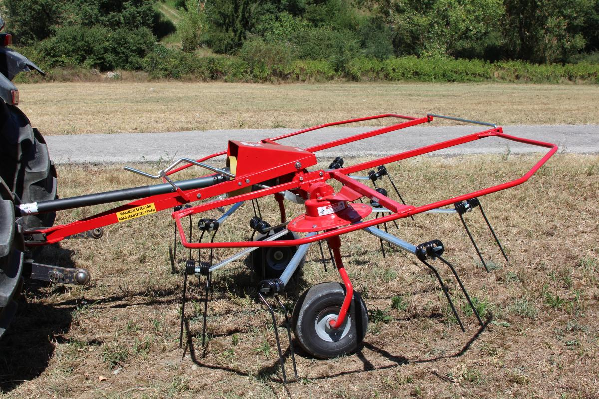 Enorossi Hay Tedder | Belco Resources Equipment