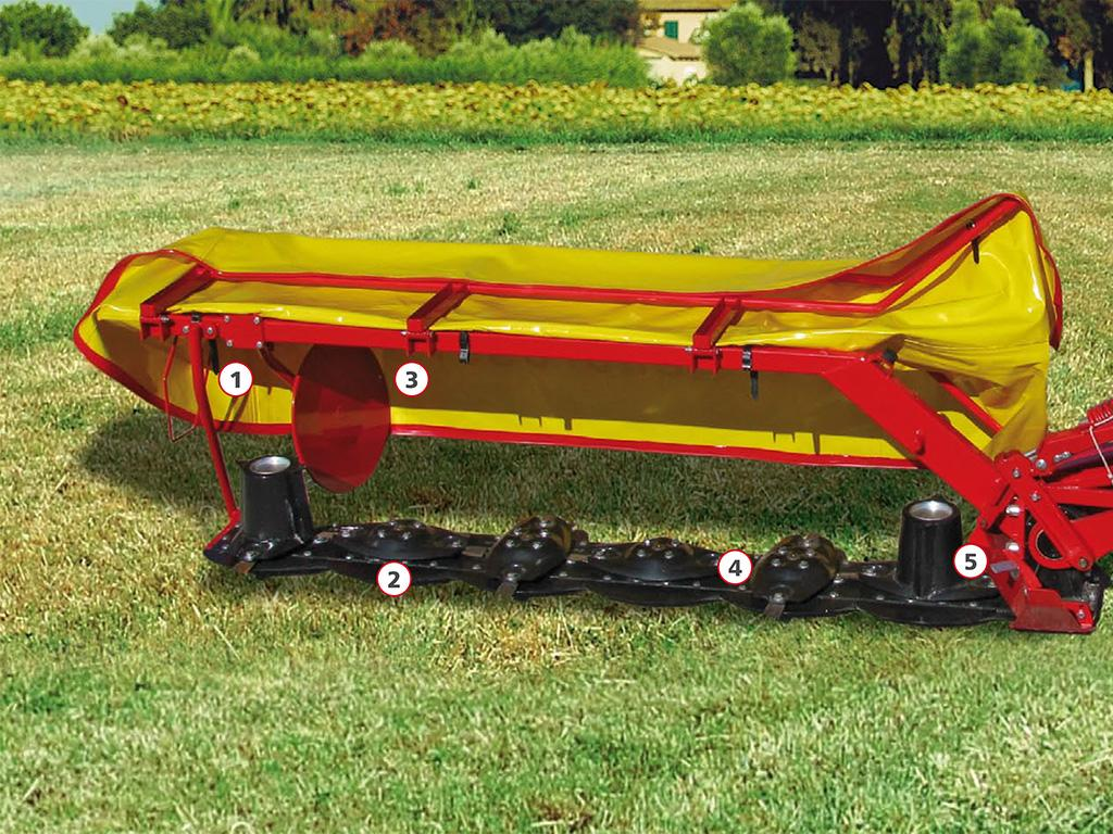 Enorossi Side-Mounted Disc Mower | Belco Resources Equipment